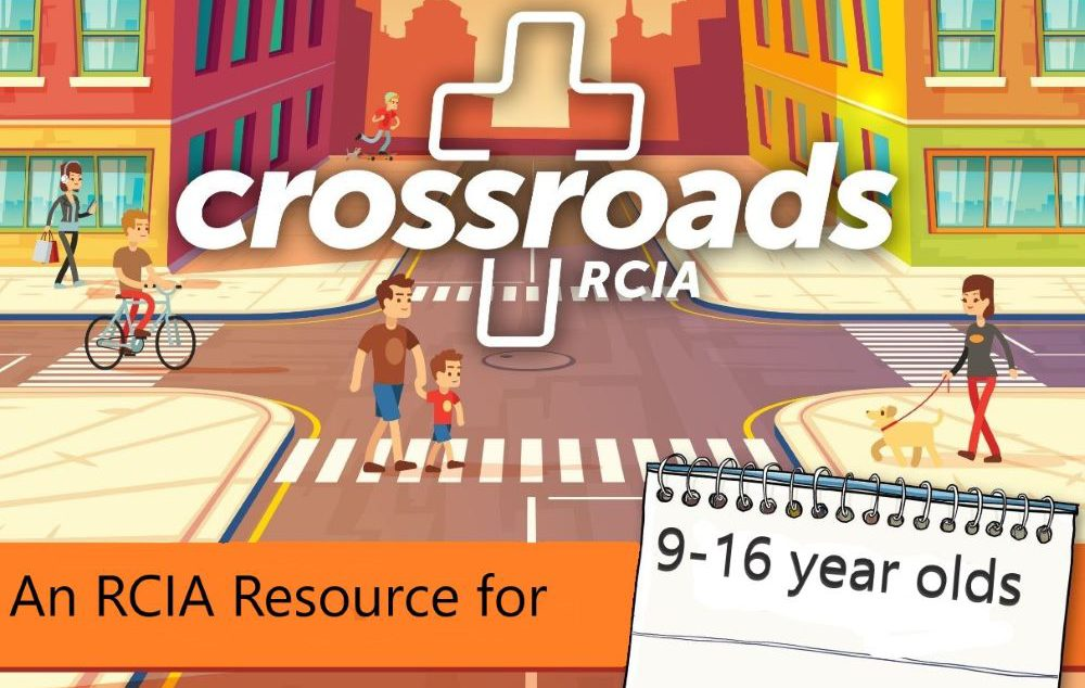 Logo for CrossroadsRCIA